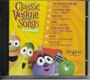 CLASSIC VEGGIE SONGS  VeggieTales  BIG IDEA  CD SEALED 2002