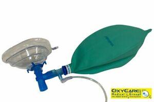 Hochkonzentrationsmaske für Cluster Kopfschmerz