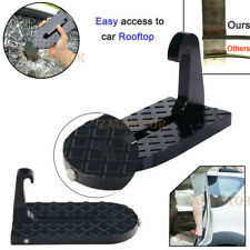 Folding Car Latch Hook Door Step Mini Foot Pedal Ladder for Jeep SUV Truck Roof