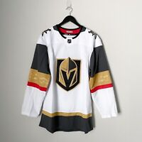 Adidas Las Vegas Golden Knights Jersey Size 46 Mens Away White NHL Hockey