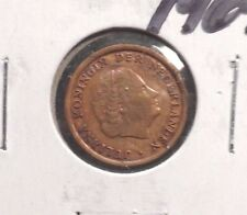 CIRCULATED 1969 1 CENT NETHERLANDS COIN! (011516)