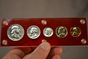 US Silver Coin 90% Proof Set 1955