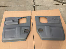 CHEVROLET EXPRESS VAN GMC SAVANNA LH RH FRONT GRAY DOOR PANEL OEM 2014-15