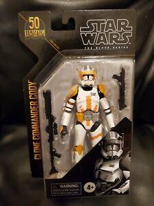 Star Wars Black Series Clone Commander Cody archive NEW unopen 50th anniversary