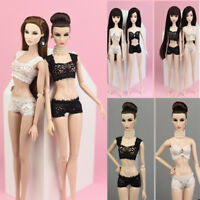 Mini doll accessories pajamas lace bra+underwear clothes dollclotheF8 MTAU