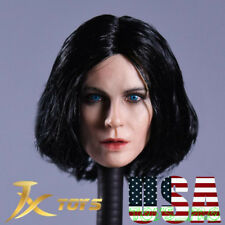1/6 Kate Beckinsale Female Head Selene Underworld Blue Eye PHICEN ❶USA IN STOCK❶