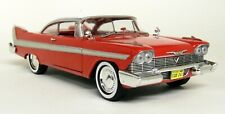 Greenlight 1/24 Scale - 1958 Plymouth Fury Christine Film Red White Diecast Car