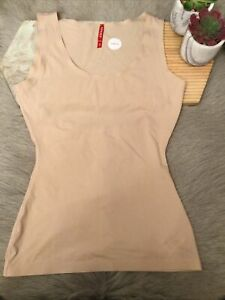 Spanx Thinstincts Tank Size M Color Soft Nude#10039R(26)