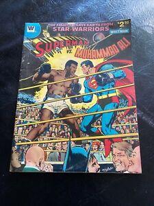 Superman Vs. Muhammad Ali 1978 Whitman, All New Collectors Edition, DC Comics