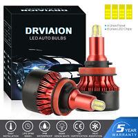8 côtés 200W 30000LM H9 H11 CREE LED Ampoule Voiture Feux Lampe Kit Phare Xenon