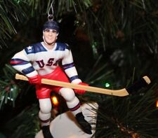 MIKE ERUZIONE CHRISTMAS ORNAMENT TEAM USA 1980 LAKE PLACID OLYMPICS MIRACLE