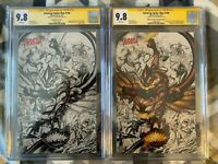 Amazing Spider-Man #798 #799 CGC SS 9.8 Virgin Covers  Signed by Tyler Kirkham