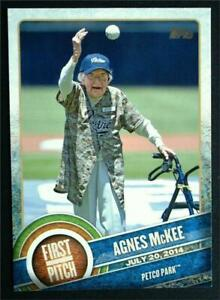 2015 Topps First Pitch #FP06 Agnes McKee - NM-MT