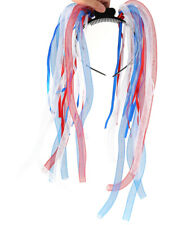 Fun Central LED Party Dreads, Red White Blue