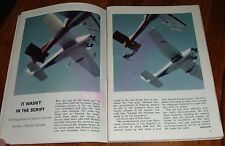 1964 TV ARTICLE~PLANE CRASH on RIPCORD SHOW~SKY DIVING TELEVISION SERIES~