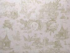 """Chivasso """"Giardino SUSSURRI"""" Tessuto Per Tende cuscino CIECHI 100% LINO 2.6m"""