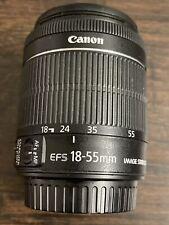 Canon EF-S 18-55mm 18-55  f/3.5-5.6 IS STM Camera Lens