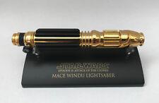 GOLD SW-302 Star Wars Lightsaber .45 Master Replicas Mace Windu AOTC