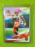 NICK CHUBB JERSEY #24 PRIZM Baker Mayfield 's RB REFRACTOR BROWNS 2019 Elite #97