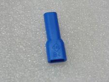 Lot x44:capuchon B-4 PVC bleu 01050022002 SES-Sterling Ø fils 3.2mm,clips 4.8mm