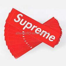 Supreme Exclusive Classic box logo sticker (red) (bulk of 10)