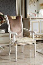 8x Klassisches Stuhl Set Garnitur Holz Stühle Sitz Polster Barock Rokoko Antik