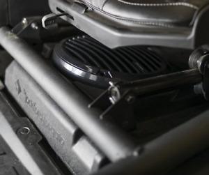 """pkg ROCKFORD FOSGATE RFX3-FWED + RM110D4B 10"""" SUBWOOFER CAN AM MAVERICK X3 & BOX"""