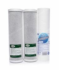 SET OF 2 X CARBON BLOCK AND 5 MICRON SEDIMENT FILTER•REVERSE OSMOSIS•REPLACEMENT