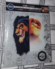 Disney's The Lion King Steelbook (4K UHD + Blu-Ray) w/ Protective Sleeve