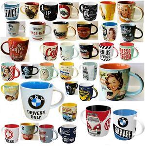 Tassen Becher Nostalgic Art Kaffeetasse Tee Tasse Kakao Kaffeepott Keramik NEU