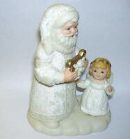 Homco Santa Claus with Baby Angel Figurine