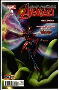 All-New All-Different Avengers #9 NM-! 1st cover appearance Nadia Pym! The Wasp!
