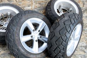 4 x TGA Vita Lite Front or Rear Wheel  & Tyre Puncture Sealant