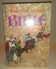 THE CHILDREN'S BIBLE ILLUSTRATED HARDCOVER 1965 GOLDEN PRESS PRE-OWNED
