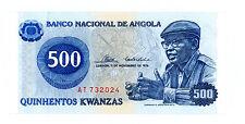 Angola … P-34 … 500 Kwanzas … 1976 … *UNC*