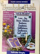 Symbols of our Faith,  Book 2, 15 Projects plastic canvas pattern booklet