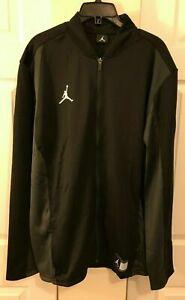 Nike Mens Large Tall Air Jordan Jumpman Full Zip Jacket Black New 924707-010