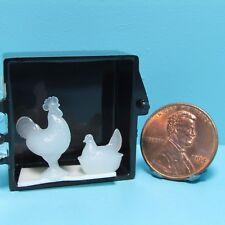 Dollhouse Miniature Oil and Vinegar Cruets Set Chrysnbon 1:12 1 inch scale D26