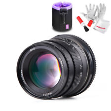 Zonlai 50mm F1.4 APS-C Fixed Lens for Sony E-Mount a3000/5000/5100/6000/6300