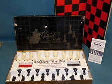 GAMES GALLANT KNIGHT CHESSMEN OF CHAMPIONS STAUNTON DESIGN WEIGHTED & FELTED