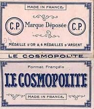 """PARIS ETS PRADON ANCIEN PAPIER A CIGARETTE PAPER """" LE COSMOPOLITE """""""