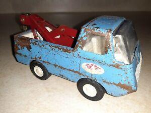 "Vintage Tonka Miniature ""Econoline Tow Truck"" #512 - Factory Chain & Hook intact"
