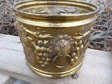 BRASS POT MADE IN ENGLAND