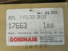 NEW ROBINAIR INLINE REPLACEMENT DRIER FILTER MODEL 17663
