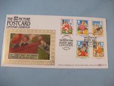 Picture Postcard Centenary Exhibition  Benham Silk Stamp Cover FD 1994, Ltd Edit