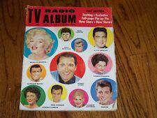 TV RADIO ALBUM 1962 Edition Marilyn Monroe Mike Landon Elvis Fabian Perry Como