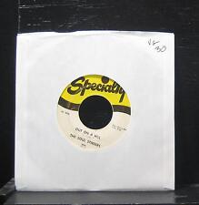 """The Soul Stirrers - The Love Of God / Out On A Hill VG 7"""" 1958 908 Specialty"""