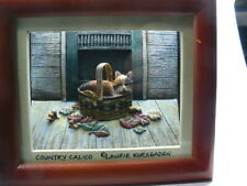 Calico Cat In A Basket Fall Leaves Light Box Beautiful Amazing Light Ltbx