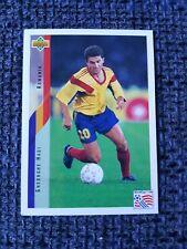 GHEORGHE HAGI WORLD CUP 1994 USA CARD UPPER DECK #201 no panini ROMANIA