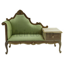 1:6 scale Fine Doll Furniture Wood unfinished European classical Telephone chair